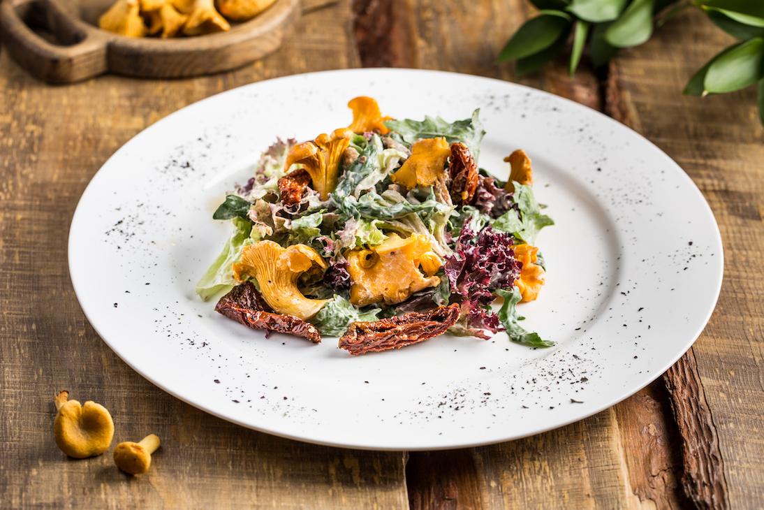 Ресторанное меню фото блюд и рецептами